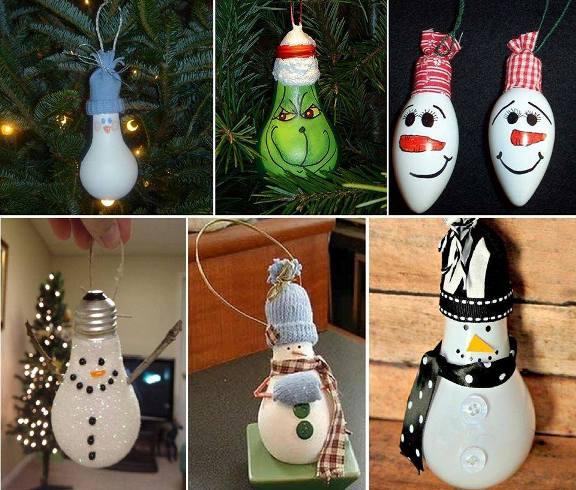 Adornos Navidad, bombillas fundidas. Fuente: https://www.facebook.com/LaBioguia