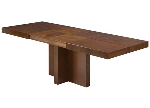 mesa extensible rectangular. Fuente: http://archivos.kibuc.com/