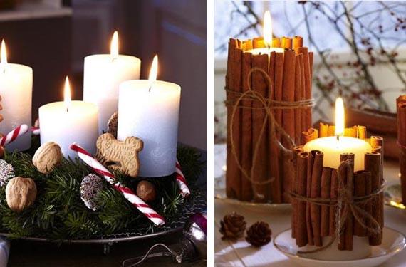Ideas originales para decorar tu casa en navidad con poco - Adornos navidenos casa ...