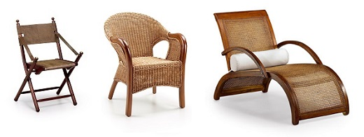Silla sill n y tumbona colonial - Muebles estilo colonial ...