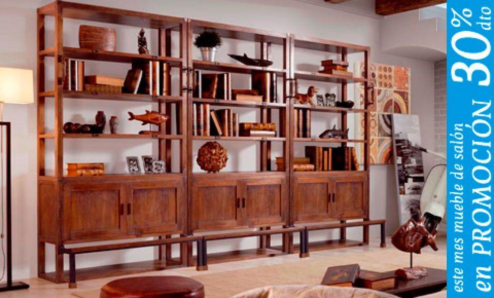 Muebles rusticos salones y dormitorio colonial de madera for Muebles rusticos de madera