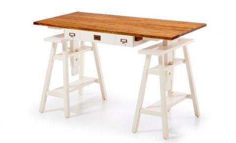 mesa de escritorio rstica